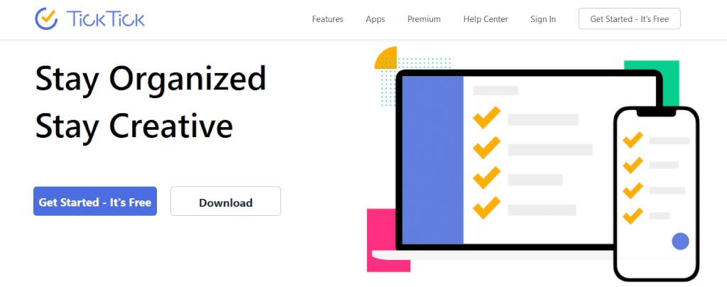 ticktick - یک ابزار رایگان برای سازماندهی و مدیریت کارهای روزانه